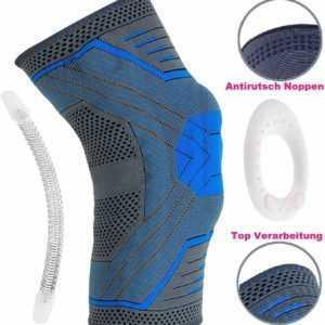 Orthopädische Kniebandage - Knie Kompression - Patella Bandage - Belmed Orthese