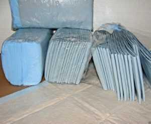 400 Wickelunterlagen Krankenunterlagen Inkontinenzbedarf ca. 40 x 60, 6-lagig
