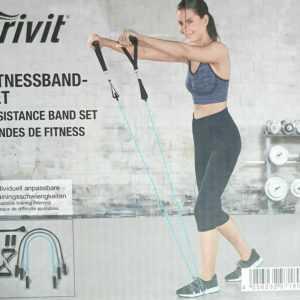 Fitnessband Set mit 3 Fitnessbänder Resistance Band Fitness Bänder Expander Cr
