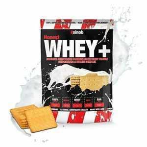 sinob Honest Whey Protein - Butter-Keeeks - 1 x 1000 g. (1 kg|Butter-Keeeks)