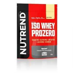 (33,80€/1kg) Nutrend Iso Whey Prozero Eiweiß Isolate 500g