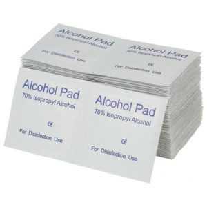 200PCS Entsorgung Alkohol Prep Pads Reinigung Desinfektion Alkohol WischtüC Y6D4