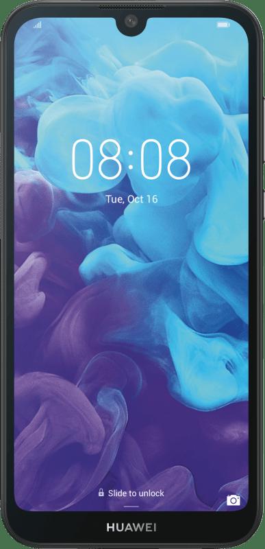 Huawei Y5 2019 Dual SIM 16GB Midnight Black Smartphone Handy...