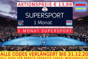 1 MONAT SKY SUPERSPORT TICKET 🏆 ACCOUNT GUTSCHEIN 💶 RABATT CODE 🏆 NUR €13,99*