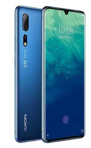 ZTE Axon 10 Pro blau - DEUTSCHE WARE MIT AUSWEIS DER MWST !