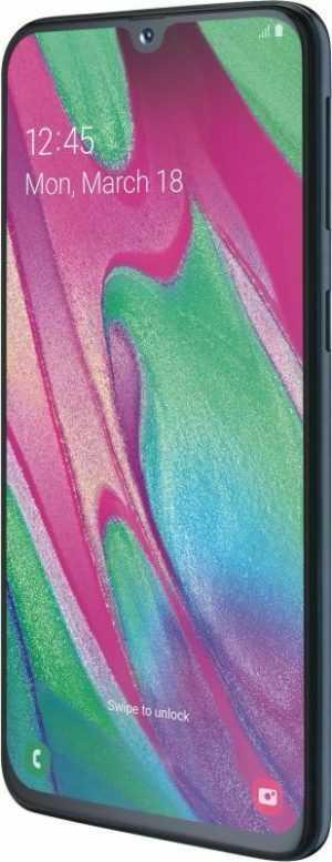Samsung Galaxy A40 Dual SIM A405F 64GB Schwarz