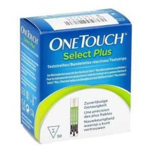 OneTouch Select® Plus Teststreifen 50 Stück