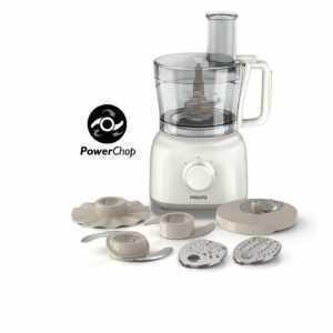 PHILIPS Daily Collection HR7627/02 Küchenmaschine weiß 650 Watt...