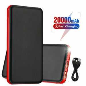 20000mAh Power Bank Dual USB Ladeadapter für Samsung Galaxy S10 S9 S8 S7