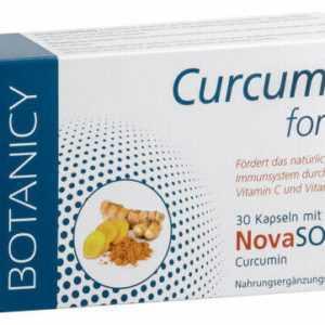 Curcuma Forte, 30 Kapseln - mit NovaSol Curcumin, Kurkuma Kurkumin hochdosiert
