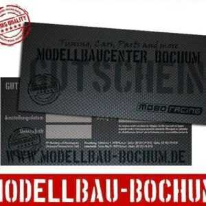 Geschenk-Gutschein - 75 Euro für unseren Webshop Modellbaucenter-Bochum.de