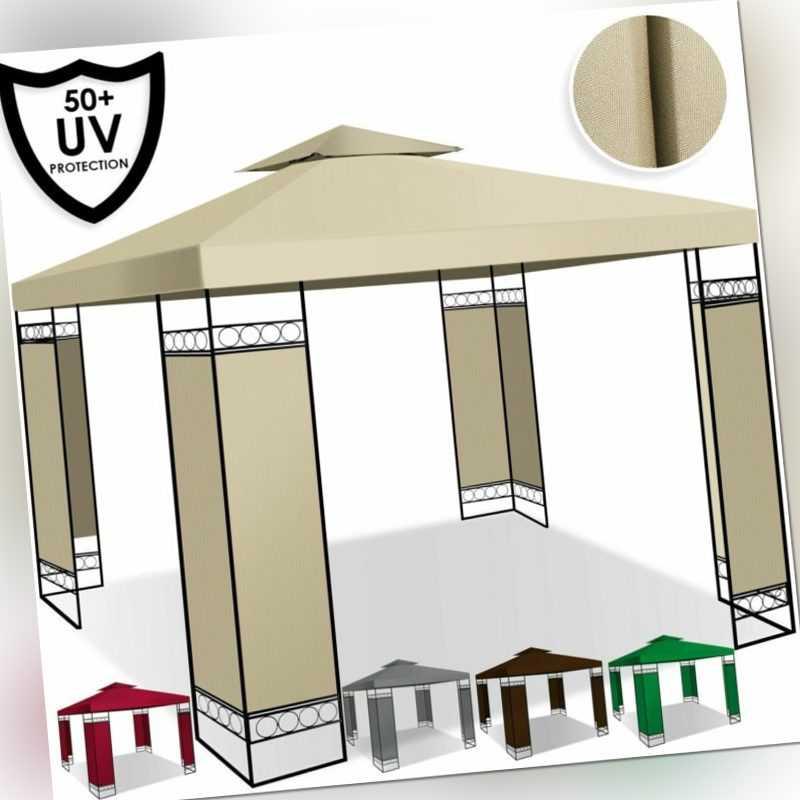 KESSER® Pavillon 3x3m Luxus Festzelt Partyzelt Gartenpavillon Garten Gartenzelt