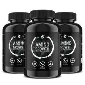 450 Tabletten AMINO-GROWTH Mega Mix! Aminosäuren + Maca 5000mg - Muskelaufbau