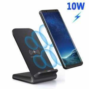 Induktive Ladestation Qi Wireless Charger Induktion Ladegerät Kabellos für Handy