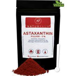 Astaxanthin Pulver 5% ⭐VAKUUMIERT⭐HOCHDOSIERT⭐5g mit 250 mg für 4,8,12mg💚VEGAN