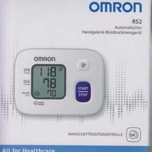 OMRON RS 2 - neues Modell - Handgelenk-Blutdruckmessgerät - neu