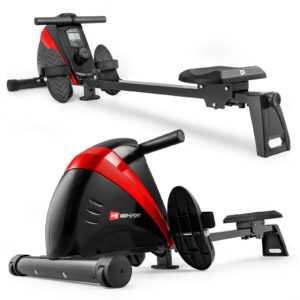 Hop-Sport Rudergerät BOOST Rudermaschine Ruderzugmaschine Computer magnetisch