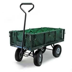 Transportwagen 300kg abnehmbare Einlegeplane Ablage Handwagen Handkarren