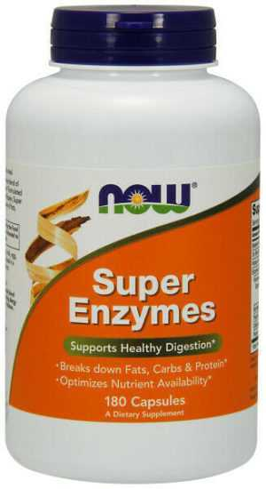 Now Foods, Super Enzymes, Supports Healthy Digestion, 180 Kapseln - Blitzversand