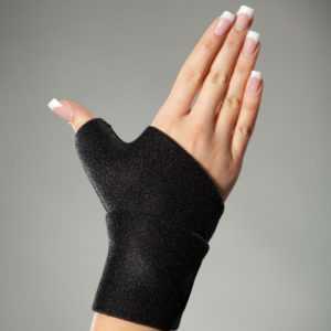 Hochwertige Daumenbandage aus Neopren, Handbandage, Handstütze