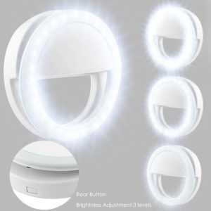 Selfie Licht Ringleuchte Handy Tablet Universell Ringlicht 36 LED Strahler Flash