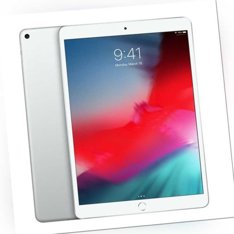 Apple iPad Air (2019) mit 64GB, WiFi, SILBER  MUUK2FD/A