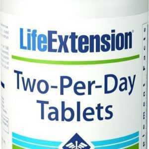 Life Extension Two-Per-Day Multivitamin Antioxidantien 120 Tabl Blitzversand