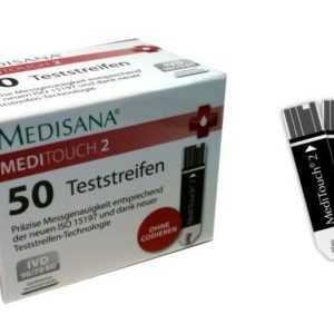 Teststreifen 50 Stk Medisana Meditouch 2 Blutzuckerteststreifen Messstreifen