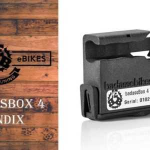 badassBox 4 Pendix E-Bike Tuning Pedelec Tuning Ebike Tuning Chip