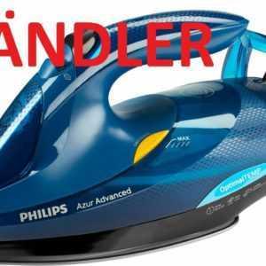 Philips Dampfbügeleisen GC4937/20 (3000 W, 240g Dampfstoß) blau UVP 109,99€