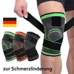 Kniebandage Kniestütze Knie Schmerzen Kompression Sportbandage Knieschoner Bein