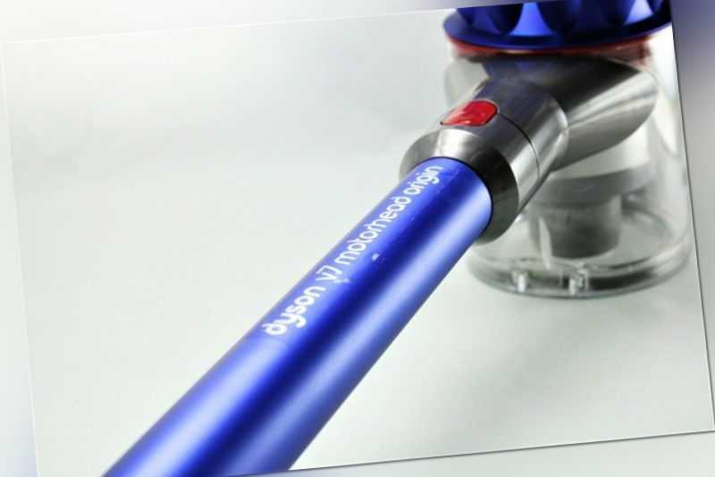 Dyson V7 Motorhead Origin Akku Stielstaubsauger blau-Nickel - Wie neu OVP