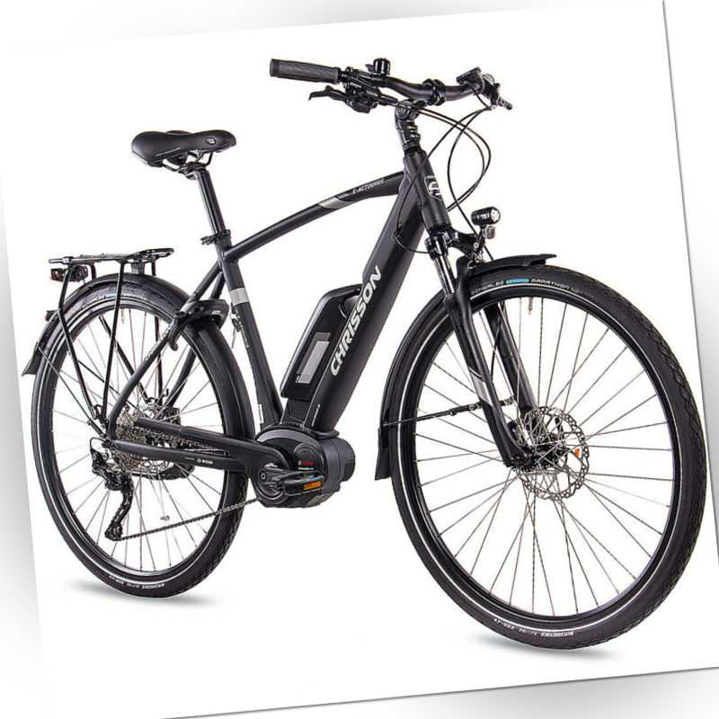 28 Zoll E-Bike CHRISSON E-ACTOURUS Herren Elektrofahrrad mit BOSCH 250W 400Wh