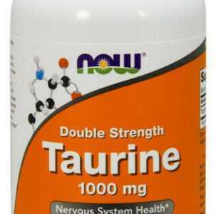Now Foods, Taurin, Double Strength, 1000mg, 250 Veg. Kapseln - Blitzversand