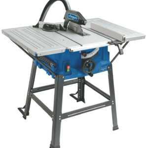 Scheppach Tischkreissäge HS100S 2000 W mit Untergestell 2x Tischverbreiterungen