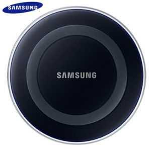 Samsung Qi 10w induktive Ladestation Universal Schnell NEU LED USB iPhone Huawei