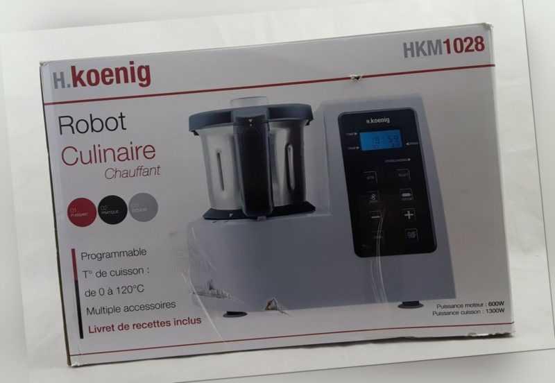 Multikochmixer Multikocher Küchenmaschine mit Kochfunktion...