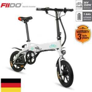 FIIDO D1 Elektro Fahrrad Klappbar Faltrad E-Bike Elektrofahrrad 3 Jahre Garantie