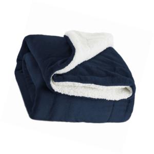 Bedsure Sherpa Decke Flauschige Kuscheldecke/Wohndecke, Super