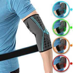 Hochwertige Ellenbogenbandage von COLOMAX Ellbogen Bandage Stütze Sport Fitness