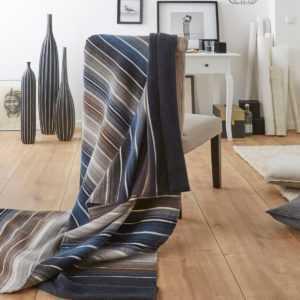 Biederlack Decke  Strucktur & Senses Tendenz  150 x 200 cm