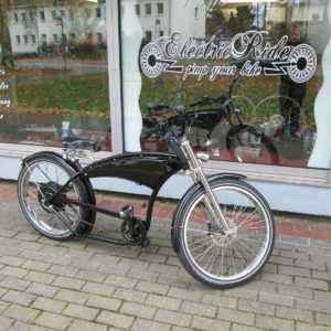 e-Bike Pedelec Cruiser Herren Fahrrad Beachcruiser Chopper Basmann 3000W Bobber