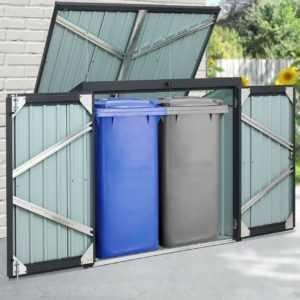 Mülltonnenbox, Müllbox, Mülltonnenverkleidung, Gartenschuppen, Gerätehaus