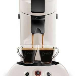 Philips Senseo Kaffeepadmaschine HD7806/40 weiss; EEK A