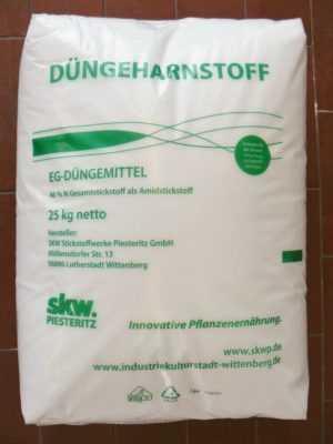 Düngeharnstoff 25 kg Harnstoffdünger UREA Harnstoff 46 % N Stickstoff Bio
