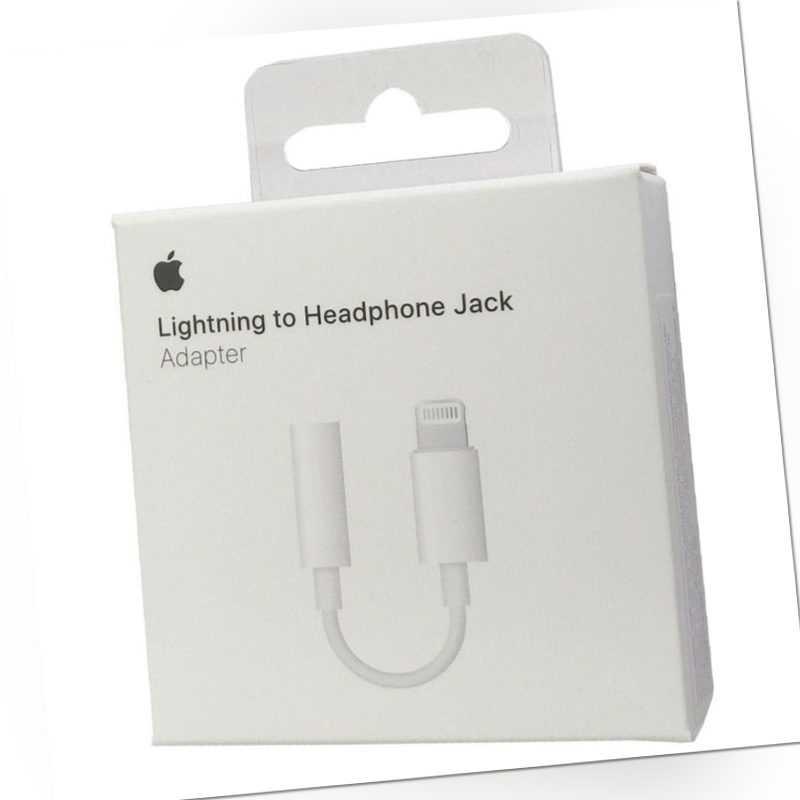 Original Apple MMX62ZM/A Kopfhörer AUX Adapter Audio für iPhone 7 8 + X XR XS 11