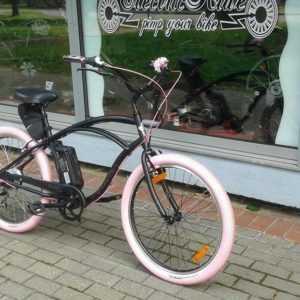 e-Bike Pedelec Cruiser Fahrrad Beachcruiser Electra Lux 7D ElectricRide