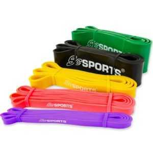 Gymnastikband Fitnessband Rubberband Gummi Übungsband in verschiedenen Stärken