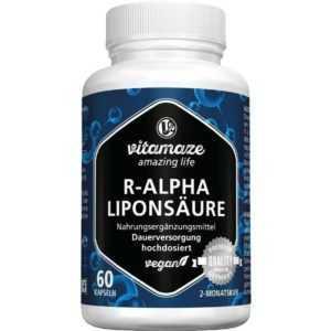 R-ALPHA-LIPONSÄURE 200 mg vegan Vitamaze   60 st   PZN13947505