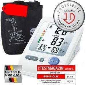 Blutdruckmessgerät Oberarm SIEGER IM TEST hochpräzise dazu drei Geschenke
